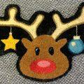 Reindeer Door Mat