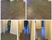 Laminate flooring collage
