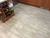 LVT fitted in a kitchen